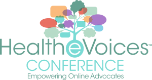 Healthevoices conference logo